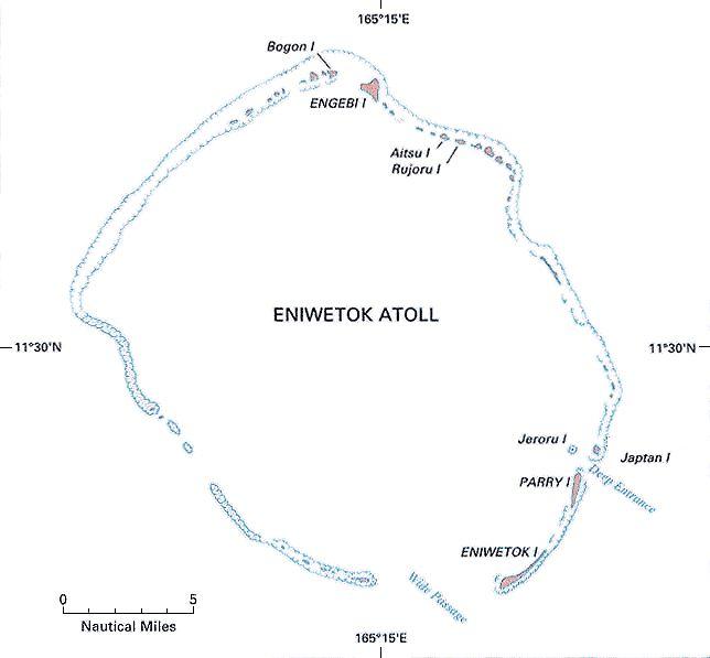 Atolón Enewetak -Islas Marshall