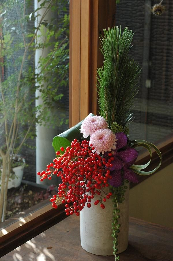 お正月アレンジ : naraの花日記