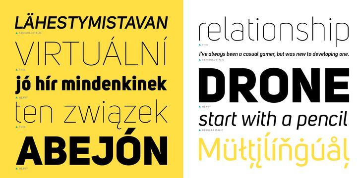 Uni Sans™ - Webfont & Desktop font « MyFonts