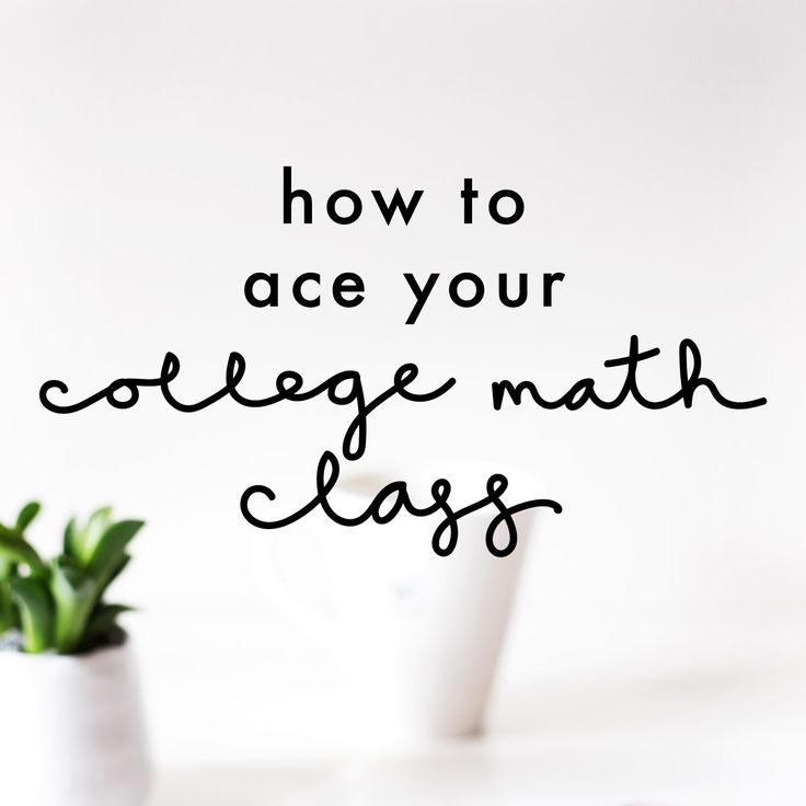 For a lot of students, math is the least exciting class on their schedule. It was hard enough in high school, but college math takes things to a whole new level! As an engineering major, I'm taking a math class pretty much every semester for my entire college career, so I've had to come up… Read More