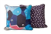 Nurseryworks Oceanography Shark Toddler Pillow