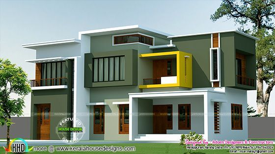 awesome Box model contemporary house 2500 sq-ft