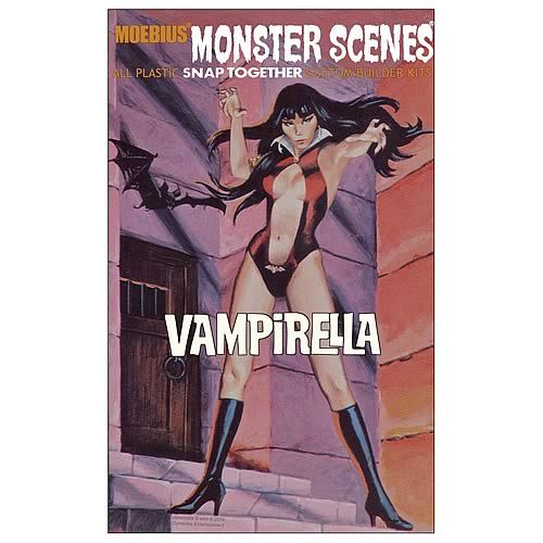 Moebius monster scenes vampirella aurora reissue kits in for Monster advanced search