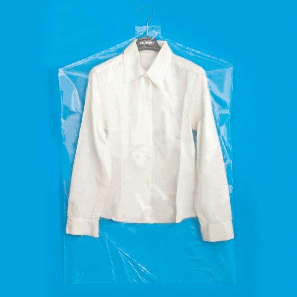 COPRIABITI 90 Copriabiti in plastica trasparenti, buste per vestiti, 20kg