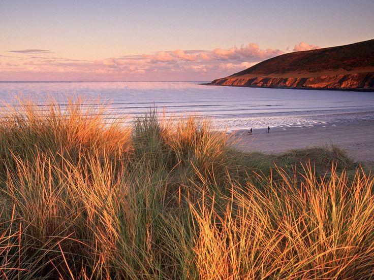 Croyde, North Devon Coast, England