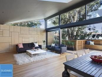 Outdoor living design with deck from a real Australian home - Outdoor Living photo 8316485