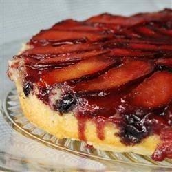 Plum Blueberry Upside Down Cake - Allrecipes.com