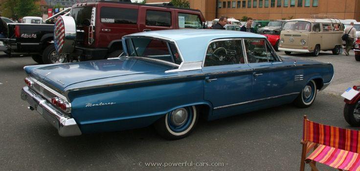 1964 Mercury Monterey Breezeway with electric roll down ...