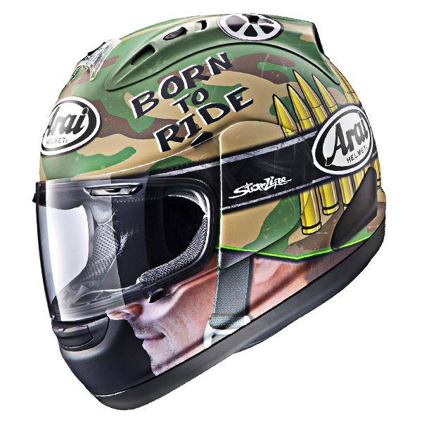 Capacete Arai RX-7 GP Hayden War