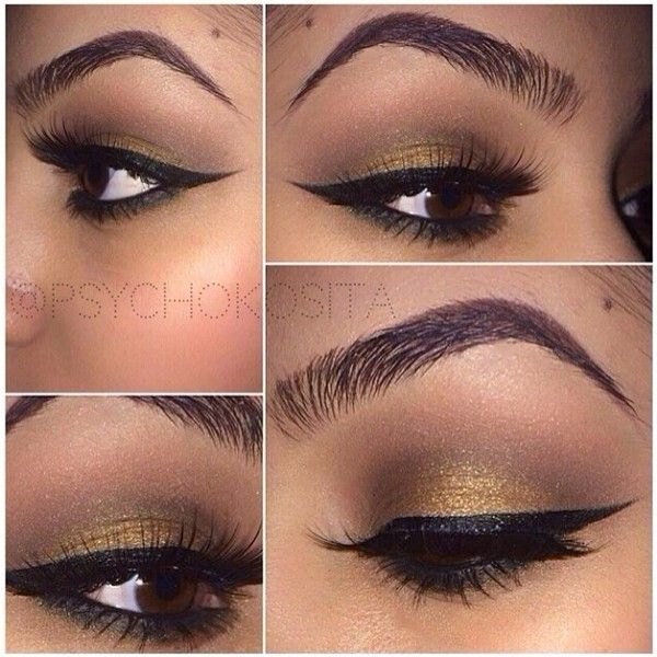 gold cat eye eyeliner - Swagbucks Search ❤ liked on Polyvore featuring beauty products, makeup, eye makeup, eyeliner, beauty, detalhes and eyes