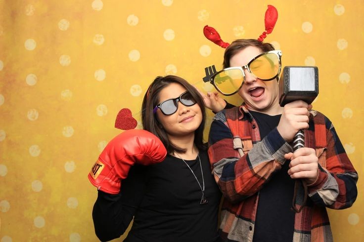 Here's our eye-popping Sunshine backdrop that goes hand in hand with our Vancouver photo booth.  Book us to be your next photo booth rental in Vancouver!