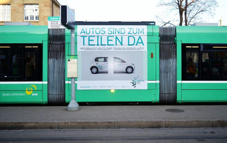 Catch a Car öV Plakate #OOH