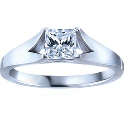 Ben Moss Jewellers 0.50 Carat Canadian Ice™ Diamond, 14k Canadian Certified White Gold Engagement Ring