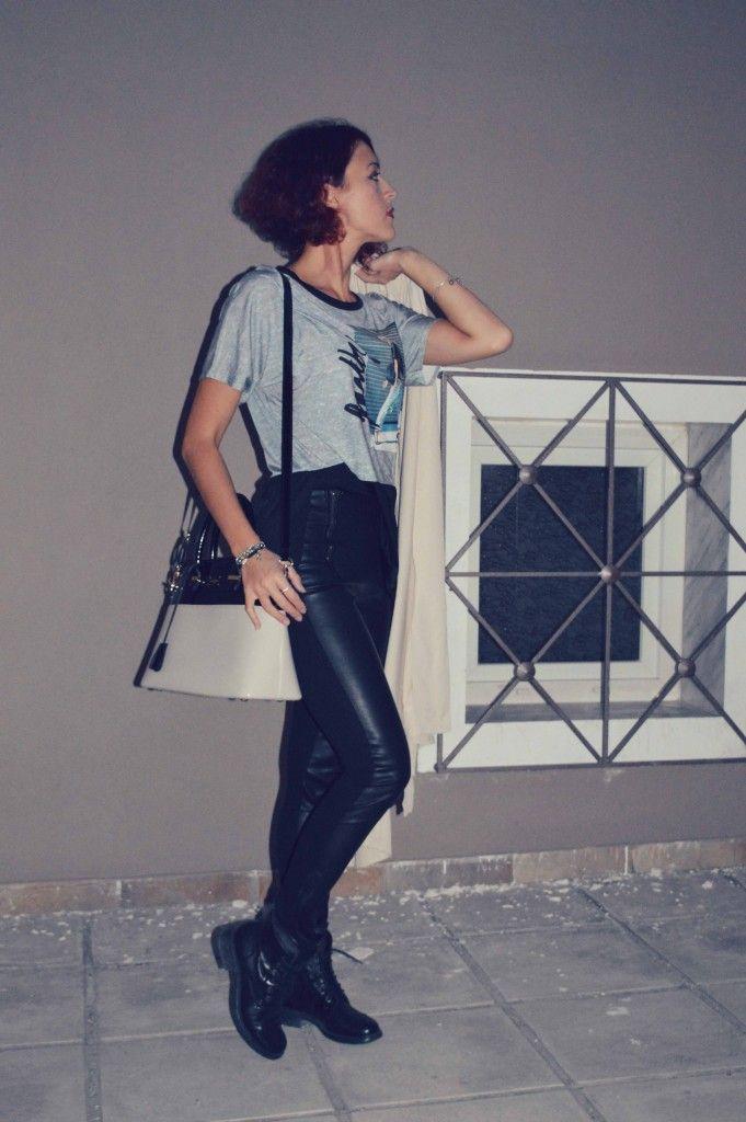 #leatherlikeleggings #cool #fashion #leggings