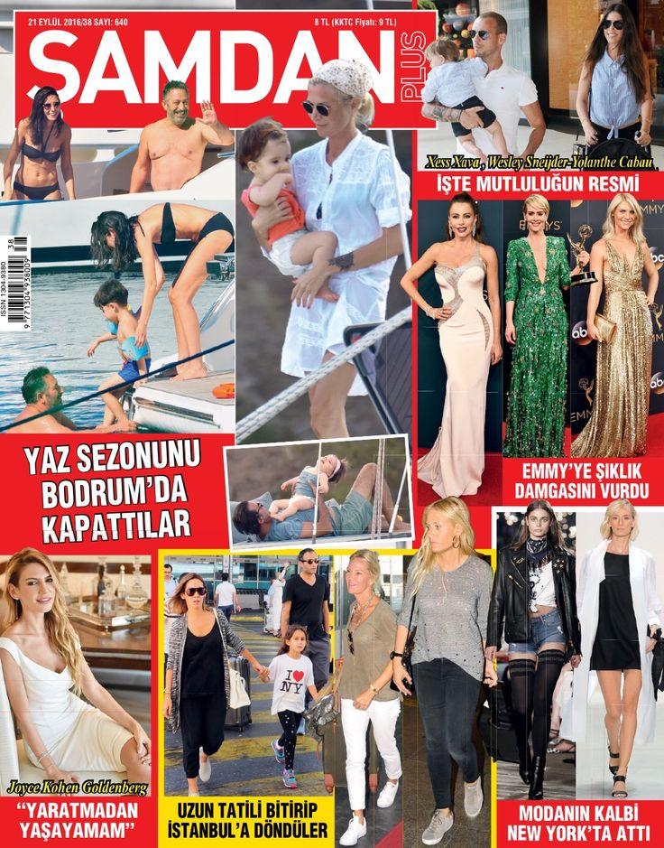 Bodrum'da sezonu kapatan ünlüler, Emmy ödüllerine damgasını vuranlar, Newyork moda haftasından son trendler ve daha fazlası Şamdan Plus'ın son sayısında..