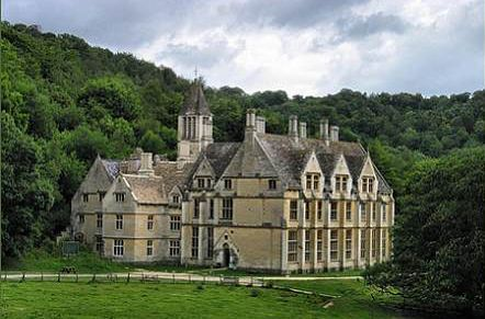 The Woodchester mansion sprawls in a way that Caleb would appreciate. Though he would be sure to insist that his home is far superior.