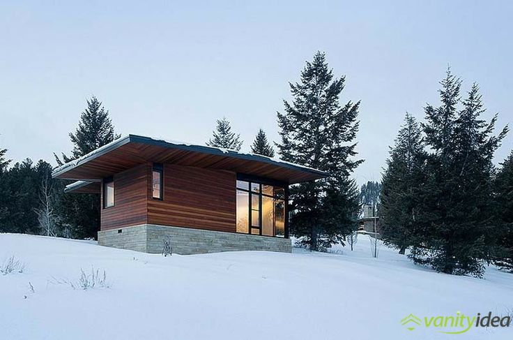 winter house design