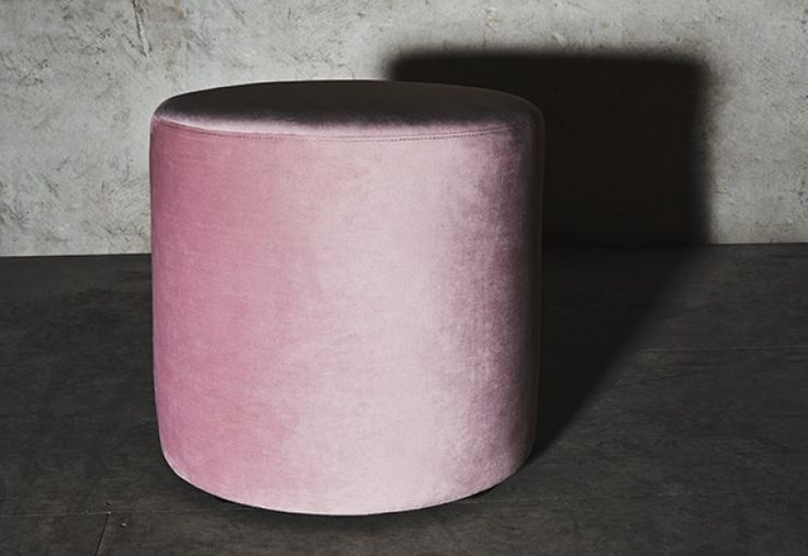 Layered's Petite Pouf Powder Pink. The classic form of the pouf makes it a favorite in any home, perfectly proportioned as a decorative piece or as an extra seat, a footstool or as an extra table. Europe Free Shipping. See more at: http://layeredinterior.com/product/petite-pouf/