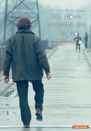 El paso suspendido de la cigüeña (1991) Grecia. Dir: Theo Angelopoulos. Drama. Romance. Migración. Xornalismo. Cine social - DVD CINE 745
