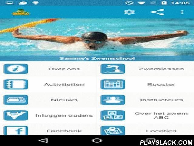 Sammy's Zwemschool  Android App - playslack.com , Er worden zwemlessen voor het A-, B- en C-diploma gegeven conform de criteria van het nationale zwem-ABC. Wij geven ook Zwemvaardigheid 1.2.3 en Snorkellessen 1.2.3.Vanaf 4 jaar is het mogelijk om het ABC zwempakket te halen met de garantie in 1,5 jaar. Of vanaf 5 jaar het ABC zwempakket te halen met de garantie in 1 jaar.Het kind is tijdens het ABC-pakket verplicht dan 2x 45 minuten zwemles in de week te volgen. Het is bij ons ook mogelijk…