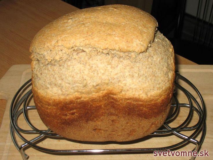 Výborný chlieb z pekárničky, recept