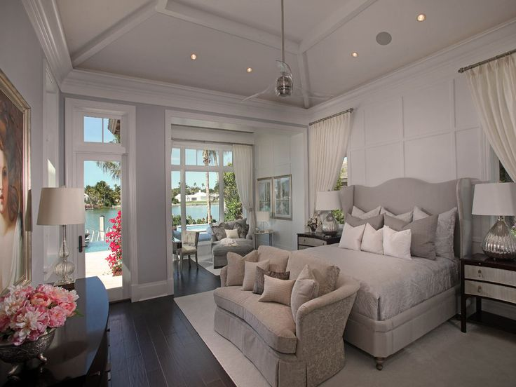 Bedroom   Jinx McDonald Interior Designs, Naples Florida