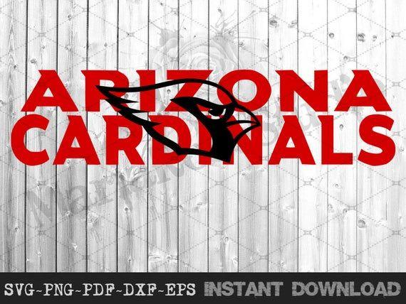Football Logo Arizona Cardinals Svg Logo Pdf Png Eps Dxf Transparent Background Svg Svg Files For Cricut Transparent Background