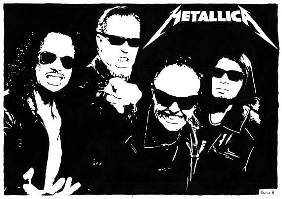 Check out this item in my Etsy shop https://www.etsy.com/uk/listing/529563213/a4-acrylic-paint-pop-art-portrait #metallica #metal #heavymetal #art #artist #artwork #painting #acrylicpainting #alternative #forsale #etsy #shop