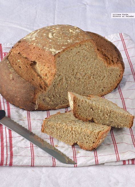 Te explicamos paso a paso, de manera sencilla, la elaboración de la receta de pan de centeno integral con masa madre. Ingredientes, tiempo de elaboración
