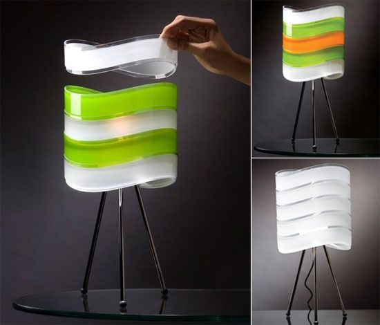 Modular Lamps set the mood according to the occasion