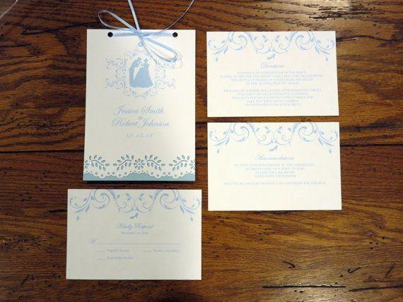 Budapest castle wedding invitations