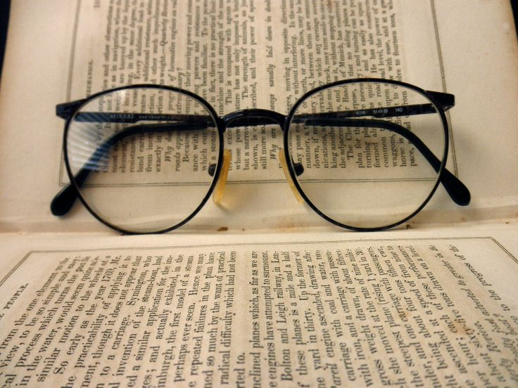 vintage wire rim eyeglass frames- dark brown, Luxottica. $39.50, via Etsy.