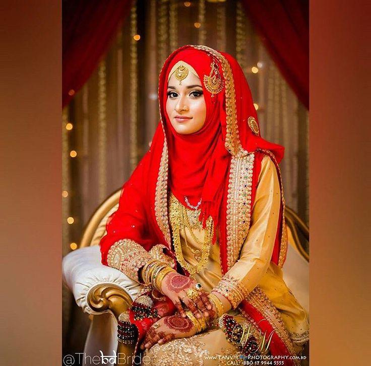 Hijabi BD bride