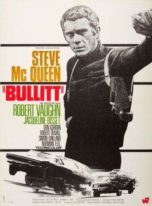 Bullitt Steve McQueen France Landi 1968 - original vintage movie poster by Landi for the French release of the cult American thriller film Bullitt based on the 1963 novel Mute Witness by Robert L. Fish, directed by Peter Yates and starring Steve McQueen, Robert Vaughn, Jacqueline Bisset, Don Gordon and Robert Duvall, with the jazz inspired music score by Lalo Schifrin, listed on AntikBar.co.uk -Watch Free Latest Movies Online on Moive365.to