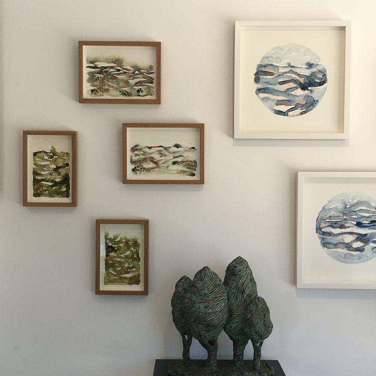 'Elements' exhibition at Saint Cloche, Paddington, February 2016