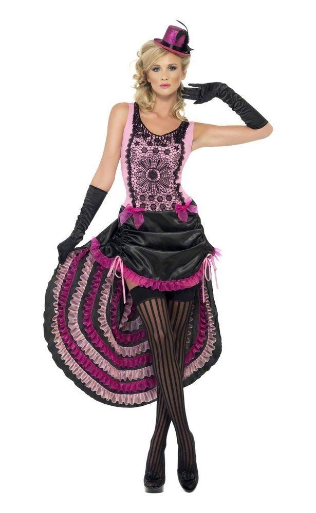 Burlesque Fancy Dress Costume
