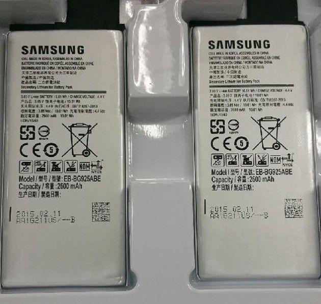 Le Samsung Galaxy S6 devrait bien embarquer une batterie de 2600 mAh - http://www.frandroid.com/rumeurs/268796_le-samsung-galaxy-s6-devrait-bien-embarquer-une-batterie-de-2600-mah  #Rumeurs, #Samsung