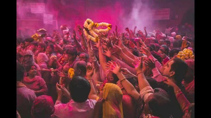 Holi Festival - Banke Bihari Mandir