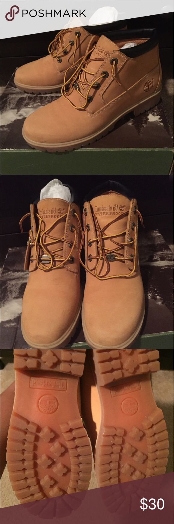 Ladies Timberland boots Timberland boots - EXCELLENT condition. Worn twice. Timberland Shoes Winter & Rain Boots