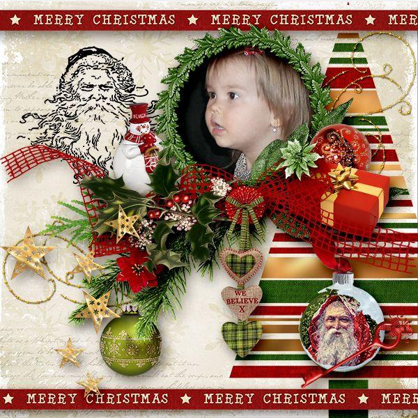 *Believe in Santa Claus* by Black Lady Designs https://www.e-scapeandscrap.net/boutique/index.php…
