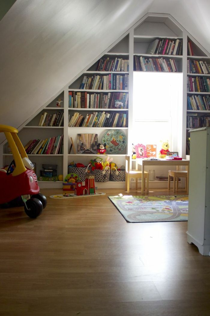 21 besten dachstuhl ausbau ideen bilder auf pinterest dachgeschosse dachausbau und dachstuhl - Zimmergestaltung ideen ...