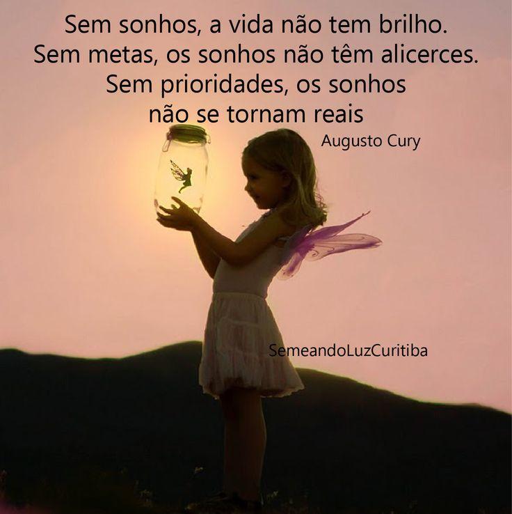 Sonhos + determinação+ prioridades = realidade ;)