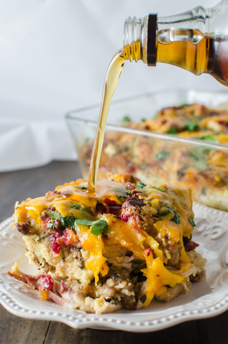 Thanksgiving Leftover Savory Bread Pudding...