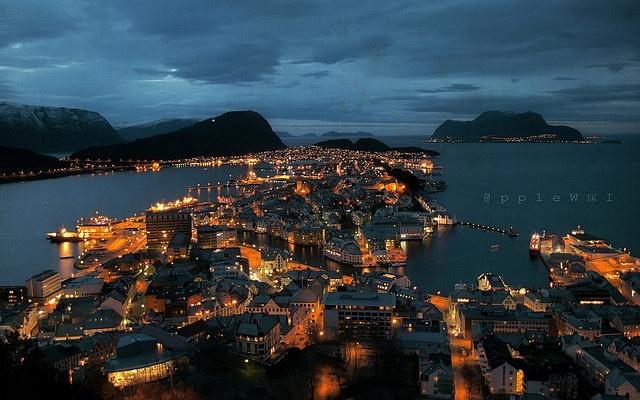 Ålesund, Norway #norway #Ålesund