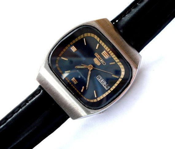 Original y Vintage Reloj SEIKO 5 Automatico Mod. por shopvintage1