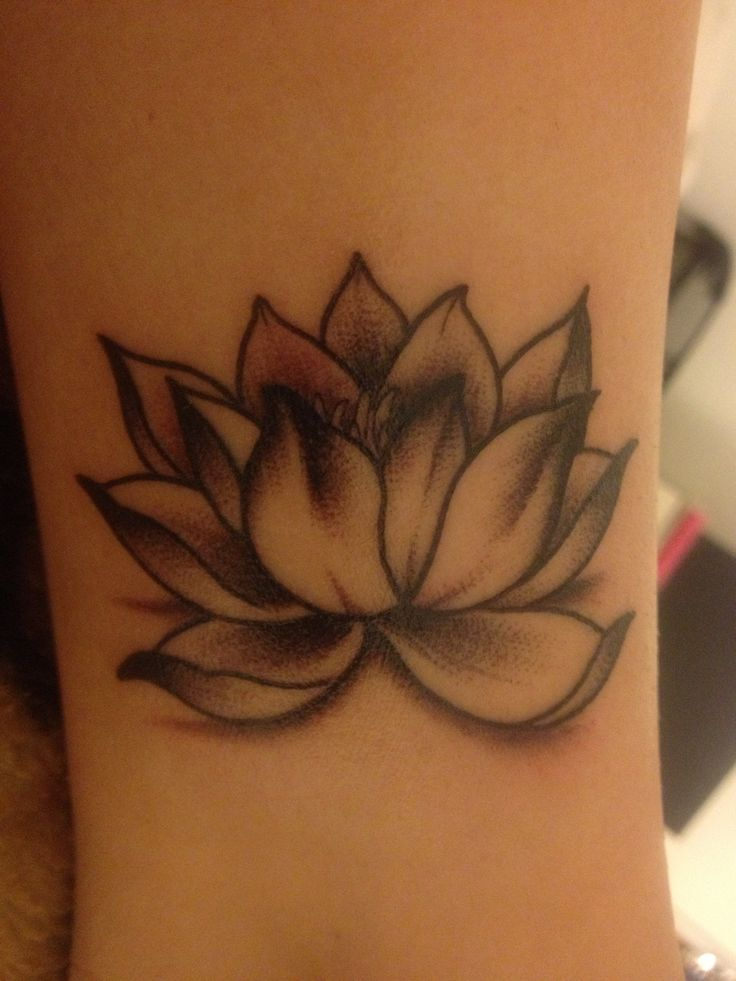 My amazing lotus tattoo by Cody Butler at Reno Tattoo Co. I am so in love with the way it turned out! (:
