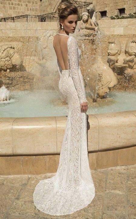 Vestiti da sposa schiena scoperta 2015 - Galia Lahav