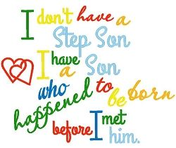Stepson - 4 Sizes! | What's New | Machine Embroidery Designs | SWAKembroidery.com Band to Bow