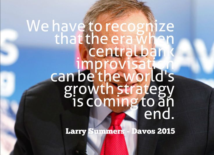 Larry Summers quote