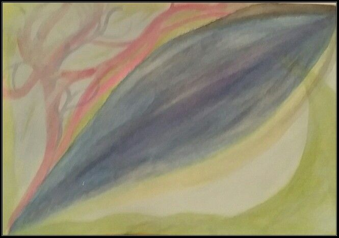 """""""Dreamy aspect""""   Watercolour abstract  by  Irena Kristina Rose Forrester            copyright  2000  all rights reserved"""